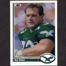 1991 Upper Deck Football #319 Ron Heller - Philadelphia Eagles