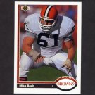 1991 Upper Deck Football #306 Mike Baab - Cleveland Browns