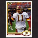 1991 Upper Deck Football #280 Mark Rypien - Washington Redskins