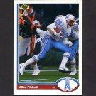 1991 Upper Deck Football #273 Allen Pinkett - Houston Oilers