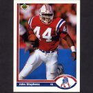 1991 Upper Deck Football #266 John Stephens - New England Patriots