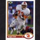 1991 Upper Deck Football #265 Reggie Cobb - Tampa Bay Buccaneers
