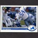 1991 Upper Deck Football #264 Chris Spielman - Detroit Lions