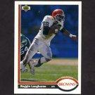 1991 Upper Deck Football #241 Reggie Langhorne - Cleveland Browns