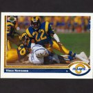 1991 Upper Deck Football #239 Vince Newsome - Los Angeles Rams