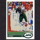 1991 Upper Deck Football #233 Al Toon - New York Jets