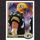 1991 Upper Deck Football #232 Tony Mandarich - Green Bay Packers