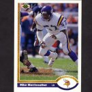 1991 Upper Deck Football #217 Mike Merriweather - Minnesota Vikings