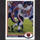 1991 Upper Deck Football #213 Jim Thornton - Chicago Bears