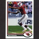 1991 Upper Deck Football #205 Rich Camarillo - Phoenix Cardinals