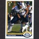 1991 Upper Deck Football #186 Frank Cornish - San Diego Chargers