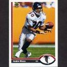 1991 Upper Deck Football #173 Andre Rison - Atlanta Falcons