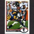 1991 Upper Deck Football #171 Steve Broussard - Atlanta Falcons