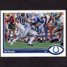 1991 Upper Deck Football #159 Bill Brooks - Indianapolis Colts