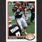 1991 Upper Deck Football #145 Ickey Woods - Cincinnati Bengals