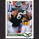 1991 Upper Deck Football #130 Clyde Simmons - Philadelphia Eagles