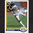 1991 Upper Deck Football #129 Billy Ray Smith - San Diego Chargers