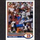 1991 Upper Deck Football #122 Vance Johnson - Denver Broncos