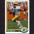 1991 Upper Deck Football #117 Don Majkowski - Green Bay Packers