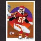 1991 Upper Deck Football #080 Derrick Thomas / Team Checklist - Kansas City Chiefs