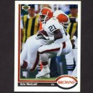 1991 Upper Deck Football #070 Eric Metcalf - Cleveland Browns