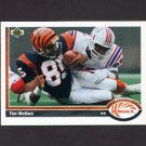 1991 Upper Deck Football #066 Tim McGee - Cincinnati Bengals