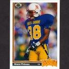1991 Upper Deck Football #026 Bruce Pickens RC - Atlanta Falcons