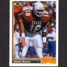 1991 Upper Deck Football #016 Stanley Richard RC - San Diego Chargers