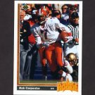 1991 Upper Deck Football #014 Rob Carpenter RC - Cincinnati Bengals