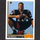 1991 Upper Deck Football #007 Dan McGwire RC - Seattle Seahawks