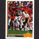 1991 Upper Deck Football #003 Mike Dumas RC - Houston Oilers
