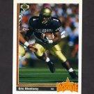 1991 Upper Deck Football #002 Eric Bieniemy RC - San Diego Chargers