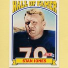 1991 Score Football #671 Stan Jones HOF - Chicago Bears