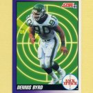 1991 Score Football #659 Dennis Byrd SA - New York Jets