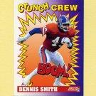 1991 Score Football #654 Dennis Smith CC - Denver Broncos