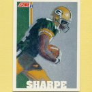 1991 Score Football #639 Sterling Sharpe - Green Bay Packers
