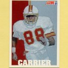 1991 Score Football #626 Mark Carrier - Tampa Bay Buccaneers