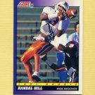 1991 Score Football #608 Randal Hill RC - Miami Dolphins