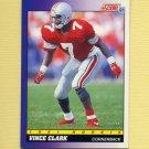 1991 Score Football #604 Vinnie Clark RC - Green Bay Packers