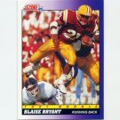 1991 Score Football #603 Blaise Bryant - New York Jets