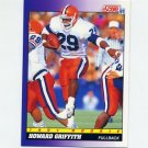 1991 Score Football #602 Howard Griffith - Indianapolis Colts