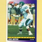 1991 Score Football #593 Eric Moten RC - San Diego Chargers