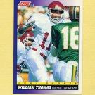 1991 Score Football #585 William Thomas RC - Philadelphia Eagles