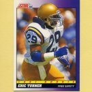 1991 Score Football #584 Eric Turner RC - Cleveland Browns