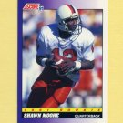 1991 Score Football #577 Shawn Moore RC - Denver Broncos