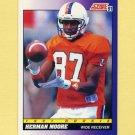 1991 Score Football #568 Herman Moore RC - Detroit Lions