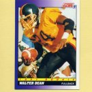 1991 Score Football #567 Walter Dean - Green Bay Packers