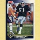 1991 Score Football #562 Aaron Wallace - Los Angeles Raiders