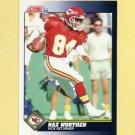 1991 Score Football #478 Naz Worthen - Kansas City Chiefs