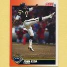 1991 Score Football #447 John Kidd - San Diego Chargers